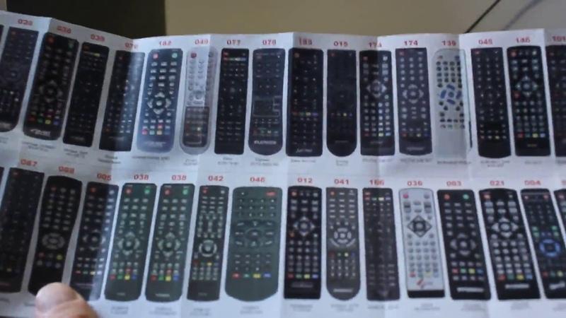 Как настроить Пульт ДУ Универсальный для цифровых приставок HUAYU DVB T2 2 Версия 2018 года