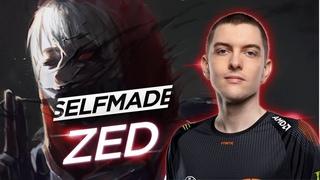 Селфмейд показал лесного зеда - Гайд  ZED Jungle Build  selfmade League of Legends