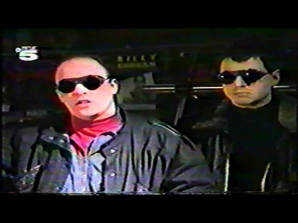 Front 242 - Interview First In / First Out (German TV, Tele5)