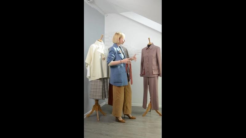 Видео от LinoRusso одежда изо льна шьём в РФ и Италии