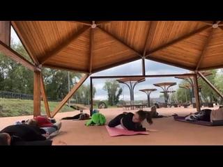 Йога в Магнитогорске.Йога-студия Солнечный ветер kullanıcısından video