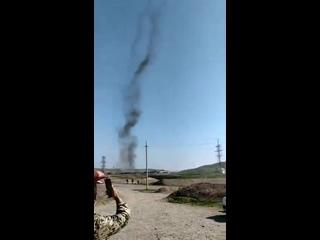 Предположительно первое боевое применение вертолетов Ми-35М ВВС Азербайджана
