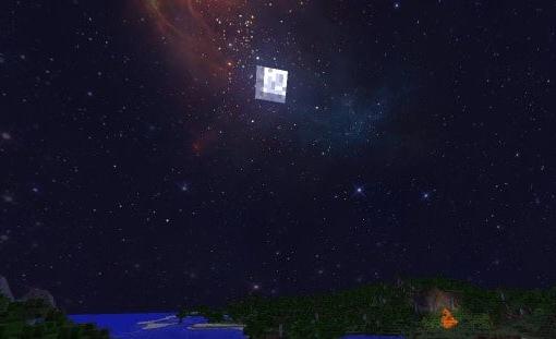 текстуры красивый космос небе для майнкрафт #8