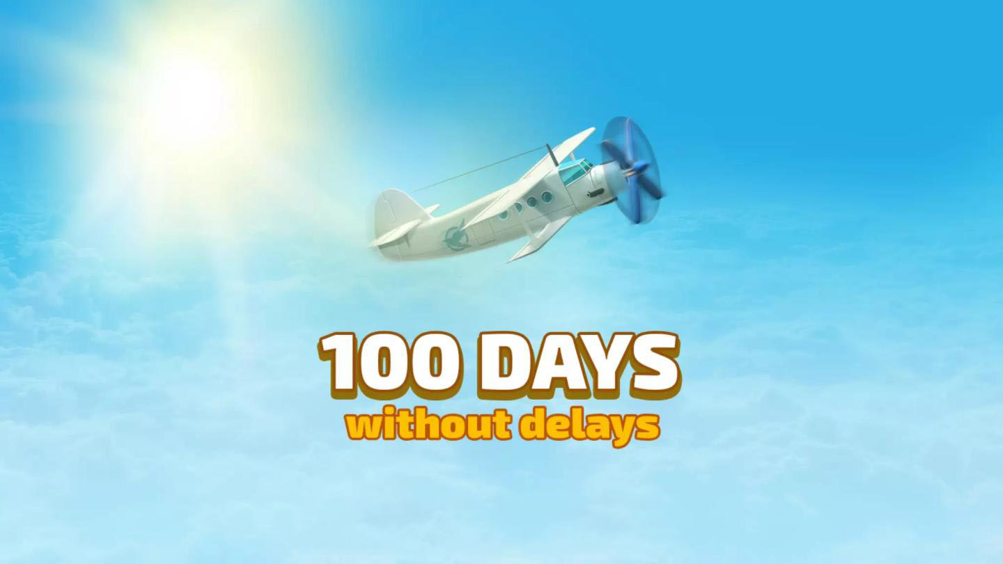 100 Days without delays (En)
