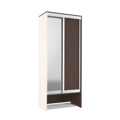«Ольга» № 10 шкаф-купе с зеркалом