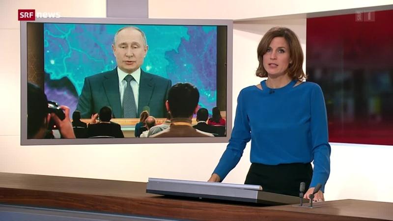 Putin äussert sich zu Nawalny-Anschlag - Play SRF