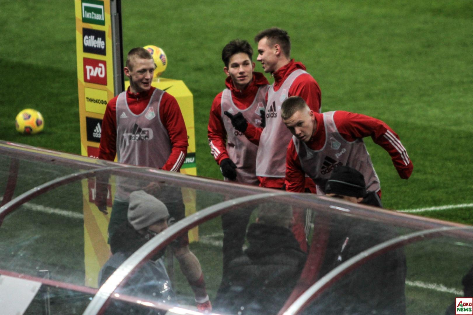 Локомотив - Арсенал. Фото: Дмитрий Бурдонов / Loko.News