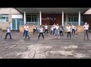 МБОУ «Выкопанская СОШ» флешмоб «Танцуй, Россия»