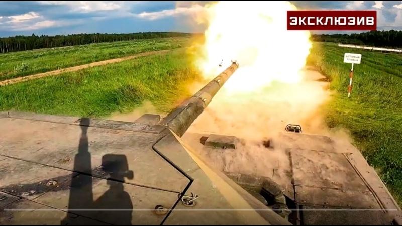 Компетенция Арматы выстрел Т 14 кумулятивным снарядом показали на видео