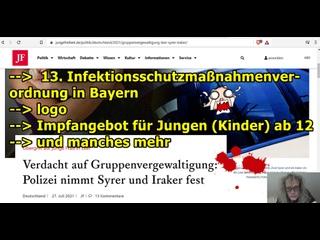 """""""13. bayrische Infektionsschutzverordnung, die (möglicherweise) nächste Vergewaltigung von ihr wisst schon, usw.!!!"""" ..."""