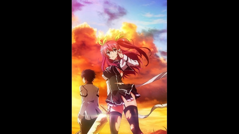 1 12 Серия Доблесть рыцаря неудачника Rakudai Kishi no Cavalry AniLibria