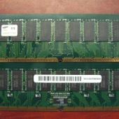 ОЗУ ECC dimm 256MB Kit 2x128MB