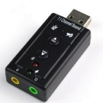 Звуковая карта внешняя USB (новая)