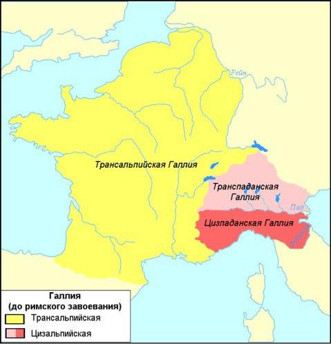 Поздняя Римская Республика, ч5. Галлия, изображение №10
