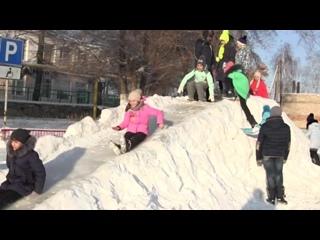 Снежный городок ДШИ 2018