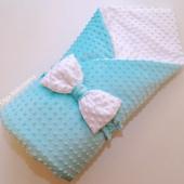[на заказ] Конверт-одеялко из плюша