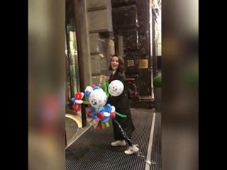 Наташа идет в отель отдыхать ❤😍 @nataliaoreiroofficia_russia