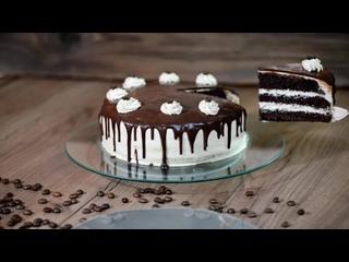 Шоколадно-кофейный торт   Больше рецептов в группе Десертомания
