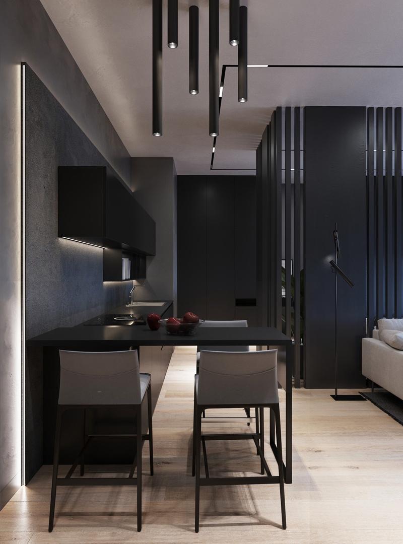 Концепт апартаментов от дизайнера Екатерины Филипповой.