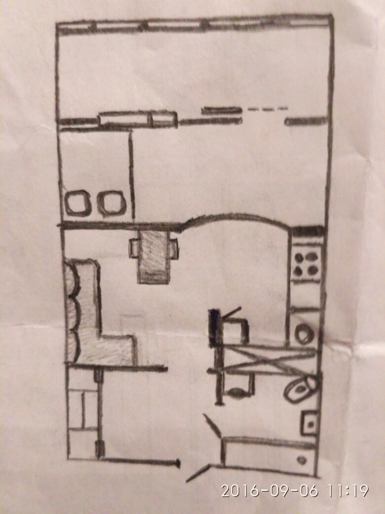 Интерьер квартиры-студии от участника группы.