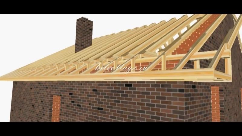 Строительство крыши - Глаза боятся - руки делают