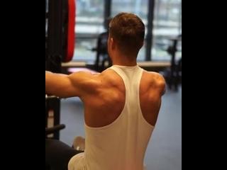 Strength of Body. Тренировка на плечи. Тяга каната на заднюю дельту