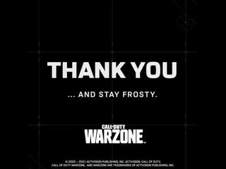 It's Warzone's 1st birthday!