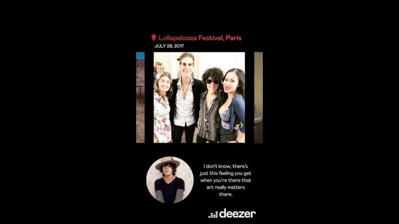 Deezer Behind the Filter LP