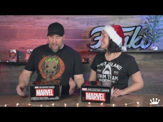 Marvel Collector Corps Marvel Holiday Unboxing