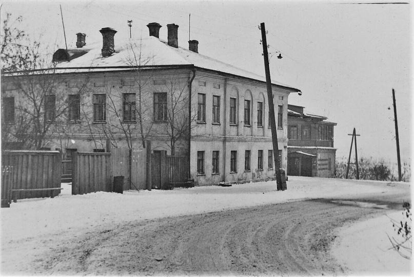 Дом Филимонова. 1967 г. Фото: А. Г. Тинский.