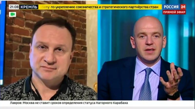 Прямой эфир с Александром Седухиным - Россия 24