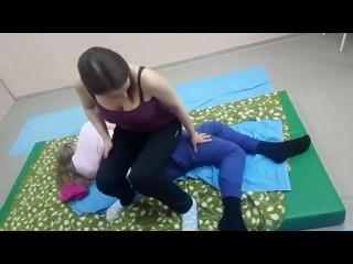 """Классический тайский массаж"" на мате, авторская обучающая программа от Юрия Огурцова"