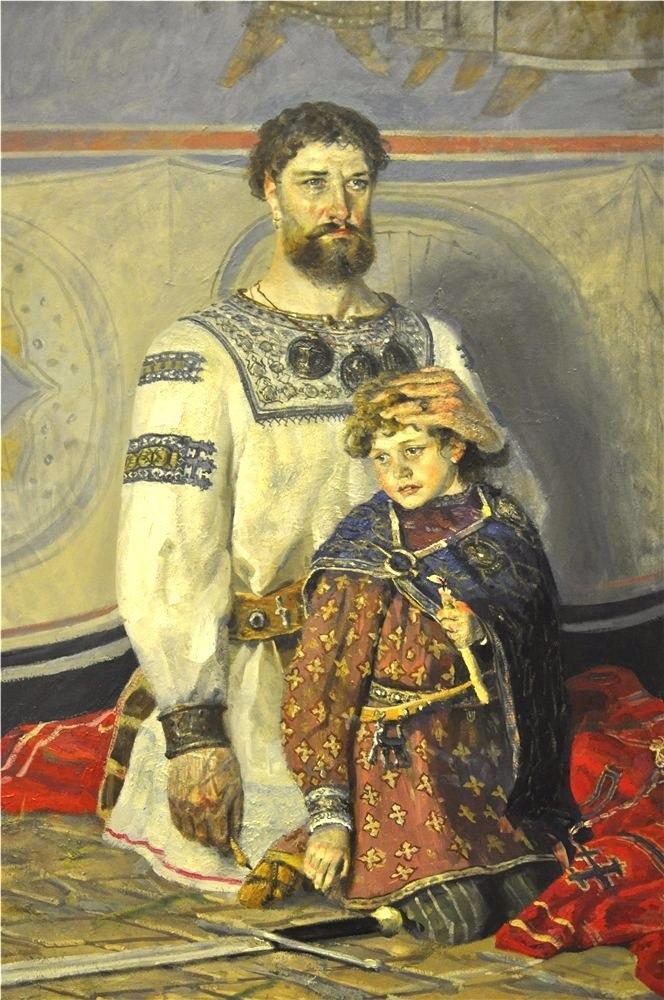 Водить ребенка в храм должен папа. Объяснять заповеди и правила жизни должен пап...