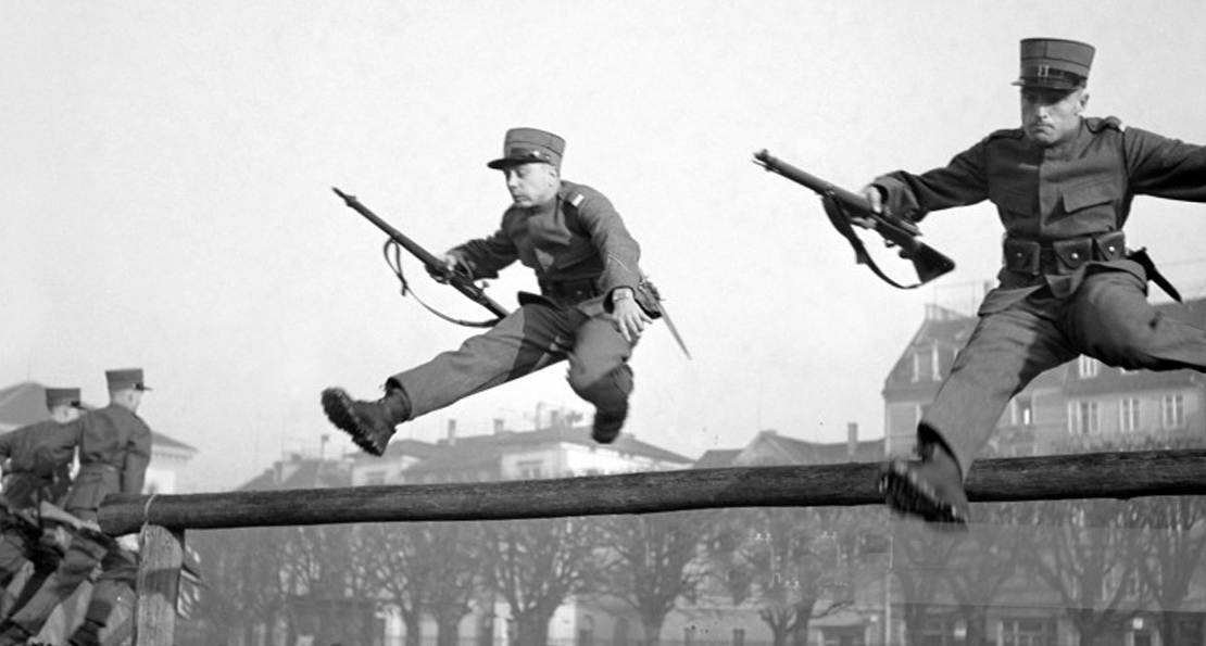 Артиллеристы Швейцарии