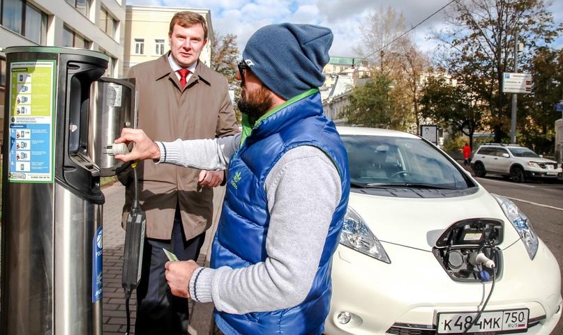 🚗 В Москве появятся станции для зарядки электромобилей за 20 минут