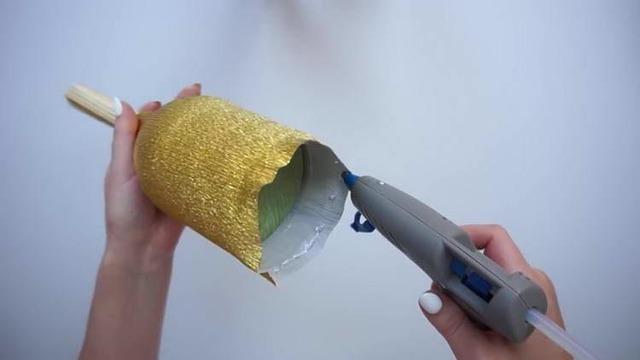 колокольчик на 1 сентября, Пошаговое изготовление колокольчика на 1 сентября, ка сделать школьный колокольчик на День учителя, как сделать школьный колокольчик на последний звонок,