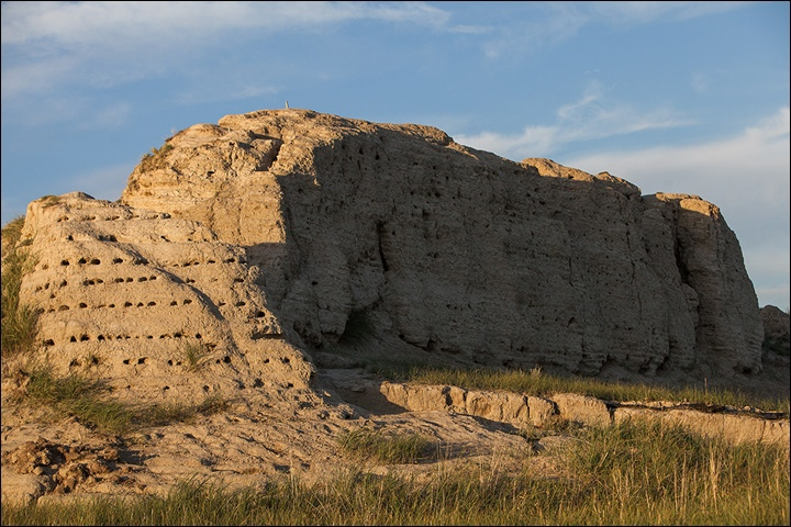 Тайна древней крепости Пор-Бажын, построенной на острове в сибирском озере, изображение №33