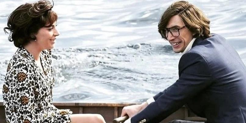 """Образы из 80-ых: Леди Гага и Адам Драйвер на съемках фильма """"House of Gucci"""" от..."""