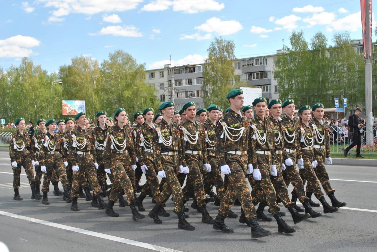 Праздничный парад в честь 76-летия Великой Победы