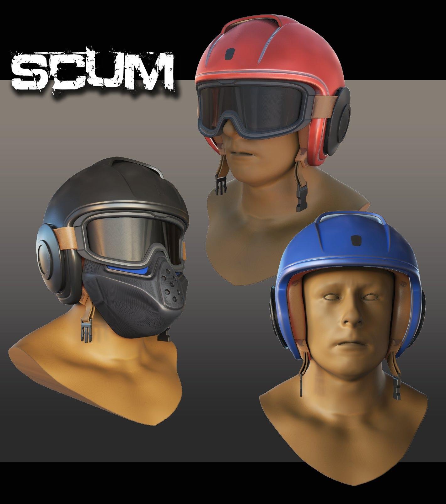 SCUM: новые шлемы Скоро...