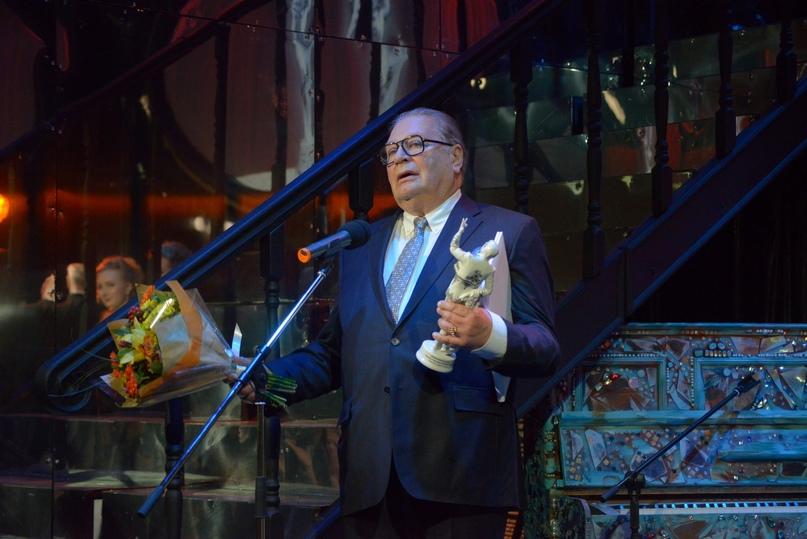 Народный артист РФ Валентин Смирнитский — лауреат премии «Фигаро» в номинации «Жизнелюб великий»
