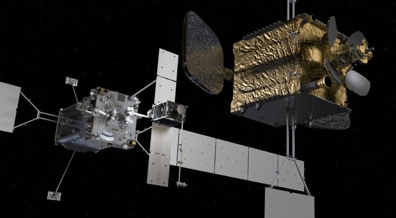Northrop Grumman разработала аппарат с роботизированной рукой для продления срока службы спутников