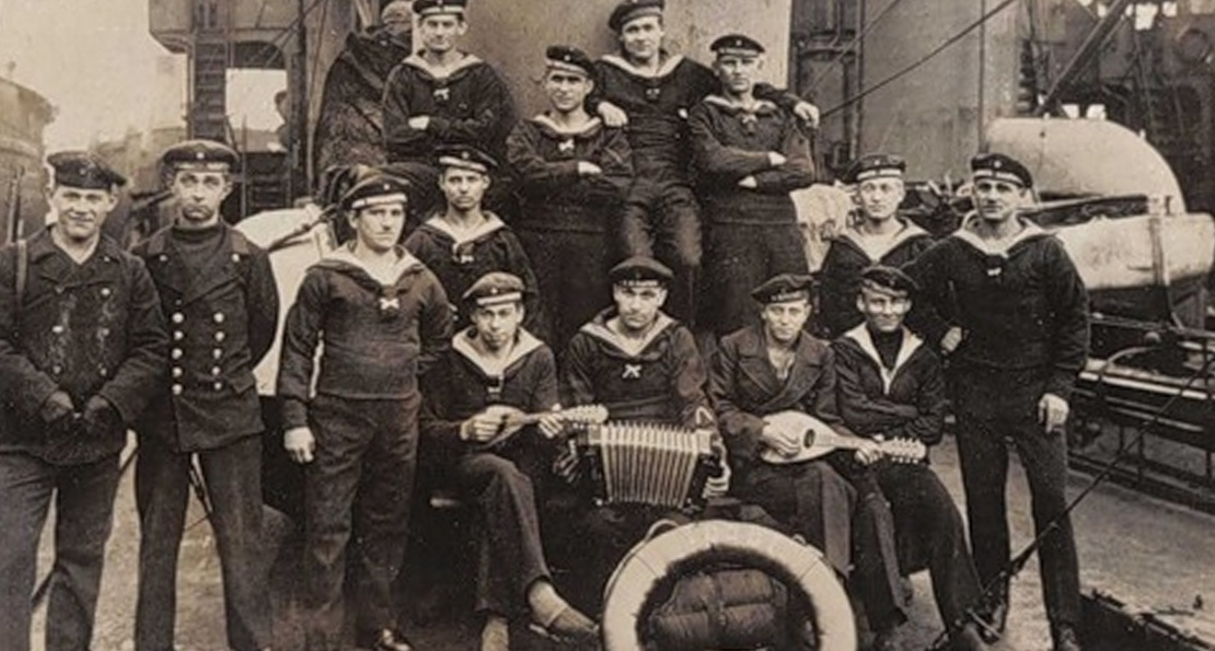 Моряки в Киле