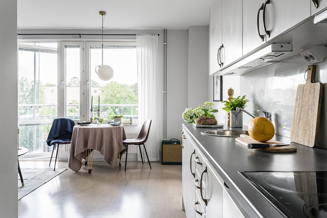 Интерьер скандинавской квартиры-студии 33 кв.