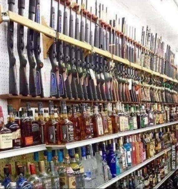 #интересное_OW  Обычный магазин на заправке в штате Луизиана,...