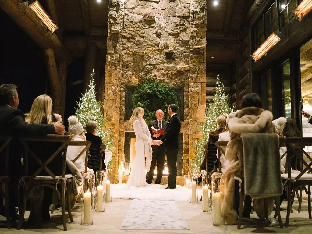 U1Yjbb5q4ic - Свадьба в зимнем стиле