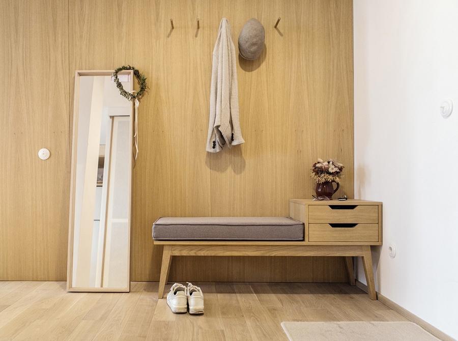 Дизайн квартиры 46 м в Минске, Беларусь.