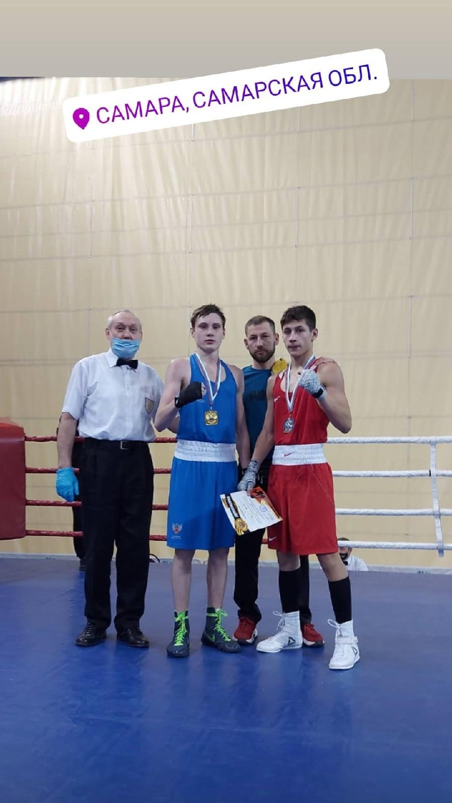 Первенстве Самарской области по боксу среди юниоров 17-18 лет 2003-2004 гг.р