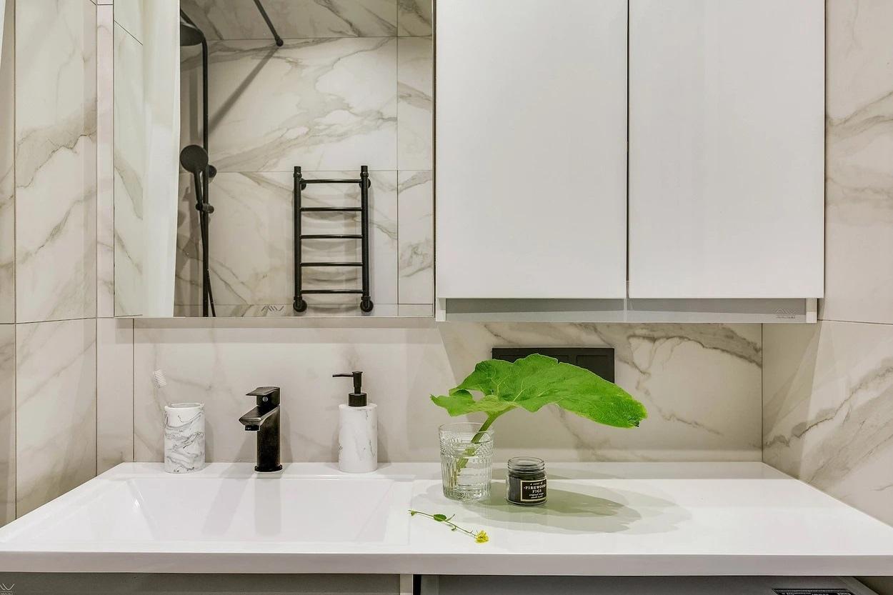 Перепланировка однокомнатной квартиры в студию почти 38 кв.