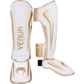 Защита ног Venum Elite White/Gold